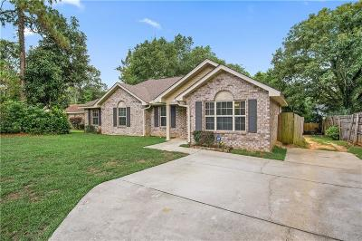 Mobile Single Family Home For Sale: 6509 Creekwood Court