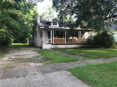 Mobile Single Family Home For Sale: 554 Wisconsin Avenue