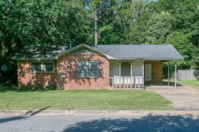 Mobile County Single Family Home For Sale: 3008 McGough Drive