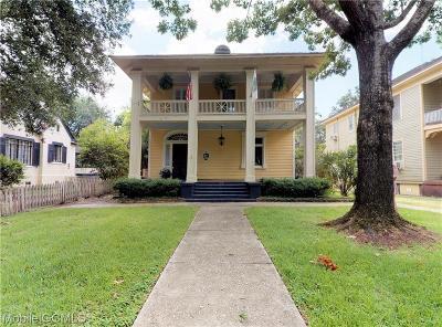 Mobile Single Family Home For Sale: 68 Monterey Street N