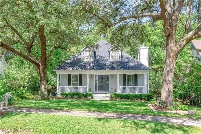 Mobile Single Family Home For Sale: 3246 Austin Drive