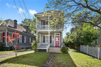 Mobile Single Family Home For Sale: 158 Cedar Street