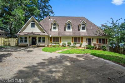 Mobile Single Family Home For Sale: 3208 Park Street