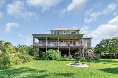Mobile County Single Family Home For Sale: 4560 Benson Road