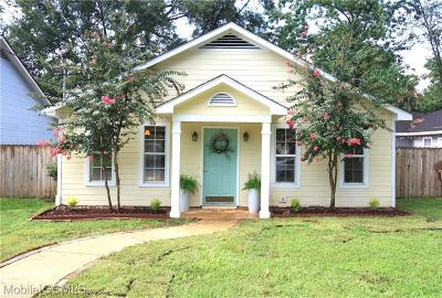 Mobile Single Family Home For Sale: 6356 Burnham Wood Place
