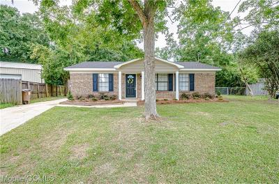 Mobile Single Family Home For Sale: 4352 Fathbrook Lane