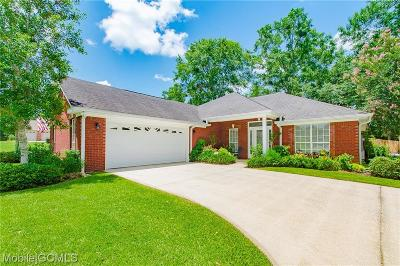Mobile County Single Family Home For Sale: 8790 Floyd Crabtree Way