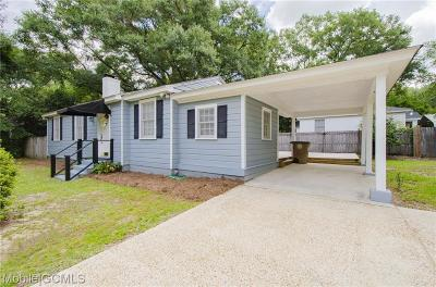 Mobile Single Family Home For Sale: 100 Overhill Road