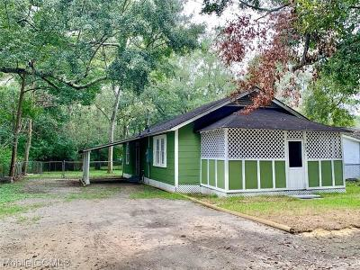 Chickasaw Single Family Home For Sale: 263 Fox Street