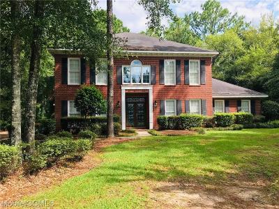 Mobile County Single Family Home For Sale: 6408 Tokeneak Trl
