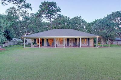 Mobile County Single Family Home For Sale: 11275 Thomas Road