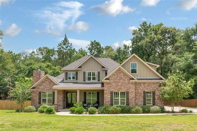 Mobile County Single Family Home For Sale: 4403 Bella Sara Drive