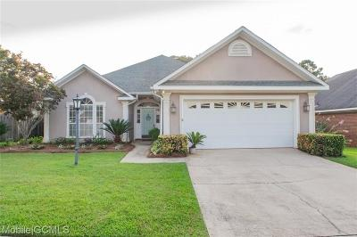 Mobile County Single Family Home For Sale: 1188 Hillcrest Crossing E