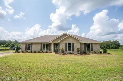 Semmes Single Family Home For Sale: 10699 Coleman Dairy Road