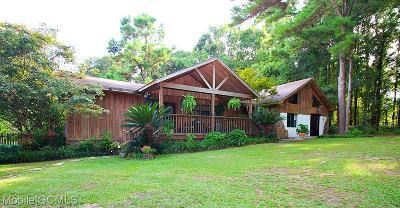 Baldwin County Single Family Home For Sale: 14163 Sherwood Highland Road