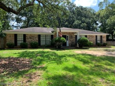 Mobile County Single Family Home For Sale: 2009 Burnt Oak Court