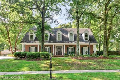 Mobile County Single Family Home For Sale: 5567 Briarfield Lane