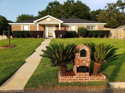 Semmes Single Family Home For Sale: 1516 Champion Cove