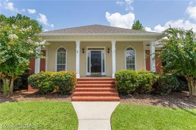 Mobile County Single Family Home For Sale: 7690 Cumberland Court