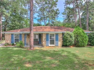 Mobile County Single Family Home For Sale: 812 Deerfield