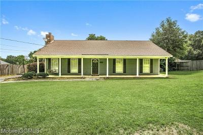 Mobile County Single Family Home For Sale: 3660 Ching Dairy Road