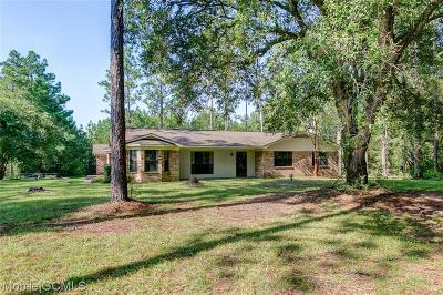 Mobile County Single Family Home For Sale: 11650 Howells Ferry Road