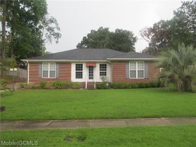 Mobile County Single Family Home For Sale: 2284 Crystal