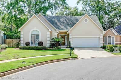 Mobile County Single Family Home For Sale: 2458 Ashbury Place