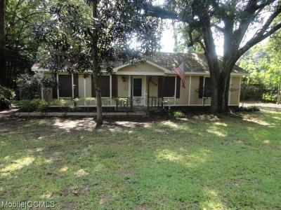 Mobile County Single Family Home For Sale: 1112 Middle Ring Road