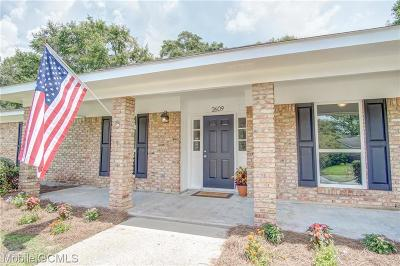 Mobile County Single Family Home For Sale: 2609 Old Dobbin Drive E