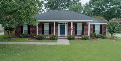 Mobile County Single Family Home For Sale: 6360 Lauren Drive S