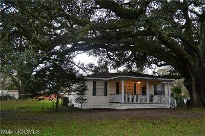Theodore Single Family Home For Sale: 6500 Carol Plantation Road