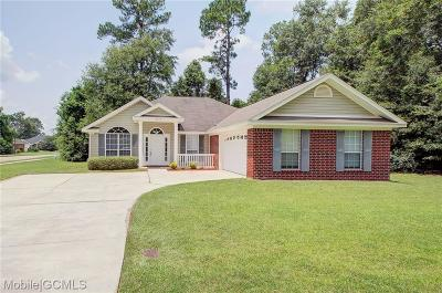 Mobile County Single Family Home For Sale: 2112 Nan Wright Way