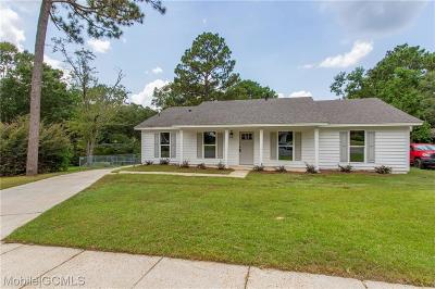 Mobile County Single Family Home For Sale: 1720 Green Field Court
