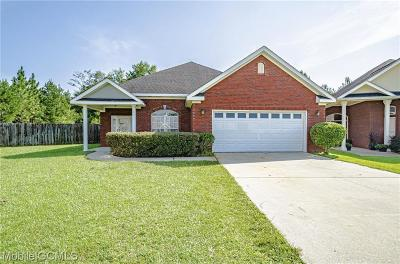 Mobile County Single Family Home For Sale: 218 Mizell Circle