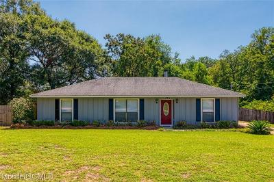 Mobile County Single Family Home For Sale: 3525 Creekway Road