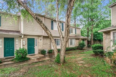 Mobile County Condo/Townhouse For Sale: 6701 Dickens Ferry Road #APT106