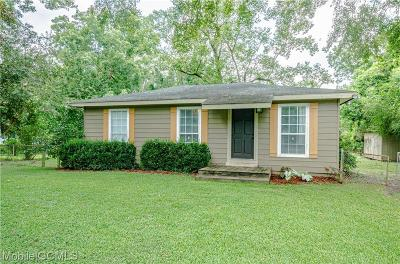 Mobile County Single Family Home For Sale: 61 Holly Street N