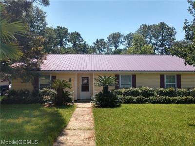 Mobile County Single Family Home For Sale: 6501 Stonemill Run