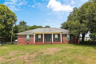 Mobile County Single Family Home For Sale: 10054 Old Pascagoula Road