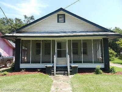 Mobile County Single Family Home For Sale: 1255 Olive Street