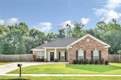 Mobile County Single Family Home For Sale: 2105 Graceland Court