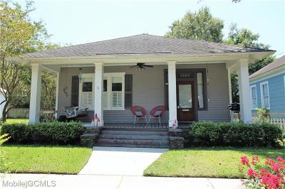 Mobile County Single Family Home For Sale: 1501 Brown Street