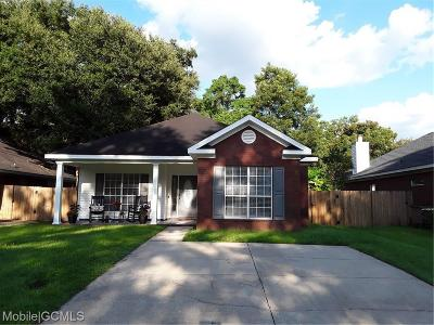 Mobile County Single Family Home For Sale: 957 Wildwood Avenue
