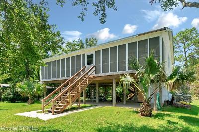Coden Single Family Home For Sale: 13747 Dauphin Island Parkway