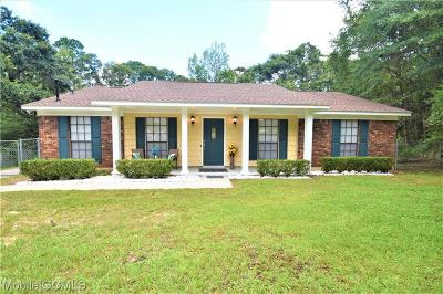 Mobile Single Family Home For Sale: 5704 Post Oak Court