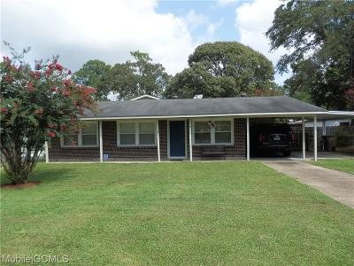 Mobile Single Family Home For Sale: 1754 Gulfdale Drive