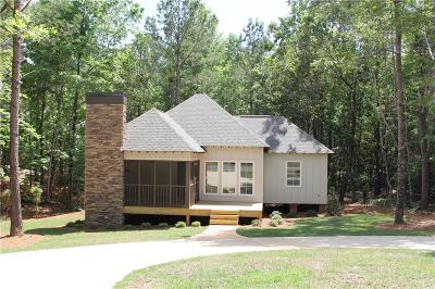 Dadeville Single Family Home For Sale: 59 Camp Circle