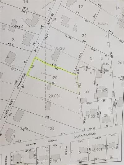 Valley Residential Lots & Land For Sale: 16th Street
