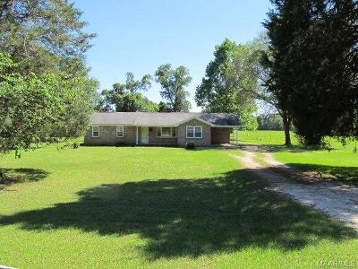 Selma Single Family Home For Sale: 807 Old Marion Junction Road